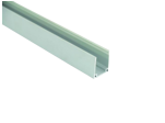 Профиль для неона 8х16 2м неанодированный