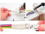 Пайка RGB ленты (4 провода по 100 мм)
