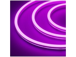 Гибкий неон 12 В, силикон 6х12мм 9,6вт 120SMD рез 2,5см 5м Фиолетовый