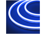 Гибкий неон силикон 6х12мм 12 В, 9,6вт 120SMD рез 2,5см 5м Синий