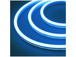 Гибкий неон 12 В, силикон 6х12мм 9,6вт 120SMD рез 2,5см 5м  Голубой