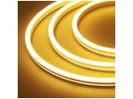 Гибкий неон 12 В, силикон 6х12мм 9,6вт 120SMD рез 2,5см 5м Желтый