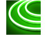 Гибкий неон 12 В, силикон 6х12мм 9,6вт 120SMD рез 2,5см 5м Зеленый