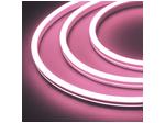 Гибкий неон 12 В, силикон 6х12мм 9,6вт 120SMD рез 2,5см 5м Розовый