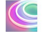 Светодиодный неон силикон 6х12мм 12 В, 9,6вт 120SMD рез 2,5см 5м RGB