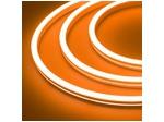 Гибкий неон 12 В, силикон 6х12мм 9,6вт 120SMD рез 2,5см 5м Оранжевый