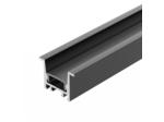 Профиль SL-COMFORT-2316-F-2000 ANOD BLACK (ARL, Алюминий)