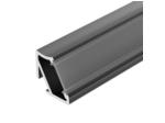 Профиль ALM-V60-2000 ANOD Black (ARL, Алюминий)