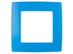 Рамка на 1 пост, голубой, 12-5001-28
