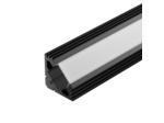 Профиль PDS45-T-2000 ANOD Black RAL9005 (ARL, Алюминий)