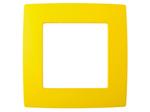 Рамка на 1 пост, жёлтый, 12-5001-21