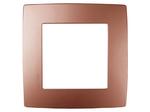 Рамка на 1 пост, медь, 12-5001-14
