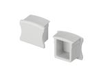 Заглушка PVC-SLIM-H15 глухая (ARL, Пластик)