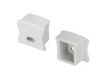 Заглушка PVC-SLIM-H15 с отверстием (ARL, Пластик)