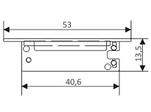 Заглушка SWALL (Правая, Левая) (ARL, Пластик)