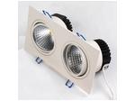 Светодиодный точечный светильник 2*5W 2700К Белый (HL6702L)
