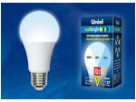 LED-A60-10W/NW/E27/FR/MB PLM11WH Лампа светодиодная. Форма «А», матовая. Серия Multibright. Белый свет (4000K). 100-50-10.