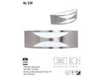 Светодиодный светильник садовый 15W E27 Матовый хром (HL239)