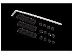 Коннектор прямой серии SY Черный трековый SY-CN-I-BL
