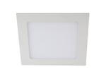 LED 2-12-6K Светильник светодиодный квадратный LED 12W 220V 6500K (30/630)