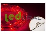 Светодиодная нить WR-5000-12V-Red (1608, 100LED) (ARL, IP65)