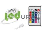 RGB контроллер для ленты с пультом ДУ 12В LN-IR24B-2 (12-24V,72-144W, ПДУ 24кн)