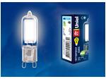 LED-JCD-4W/NW/G9/CL GLZ01TR Лампа светодиодная, прозрачная. Белый свет (4000К).