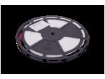 Светодиодная термолента SMD 2835, 180 LED/м, 12 Вт/м, 24В, IP68, Цвет: Теплый белый
