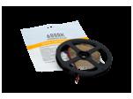 Лента стандарт SMD 2835, 60 LED/м, 4,8 Вт/м, 12В, IP20, Цвет: Холодный белый