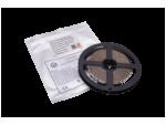 Лента светодиодная стандарт SMD 2835, 120 LED/м, 9,6 Вт/м, 12В, IP20, Цвет: Теплый белый