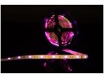 Светодиодная разноцветная RGB лента стандарт SMD 5050, 30 LED/м, 7,2 Вт/м, 12В, IP20, Цвет: RGB