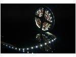 Самоклеющаяся светодиодная лента стандарт SMD 3528, 60 LED/м, 4,8 Вт/м, 12В, IP20, Цвет: Холодный белый