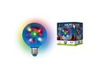 ULI-Q308 1,5W/RGB/E27 ДИСКО ШАР 3D Светодиодный светильник. Свечение 3D звёзды. 220В. Диаметр 8см.