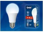 LED-A60-10W/NW/E27/FR/24-48V PLO55WH Лампа светодиодная. 24-48В. Форма «A», матовая. Белый свет (4000K). Картон
