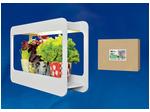 ULT-P30-15W/SPFS IP40 WHITE Светильник для растений светодиодный с подставкой «Минисад». Спектр для фотосинтеза с высокой цветопередачей.