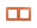 Рамка на 2 поста, оранжевый, 12-5002-22