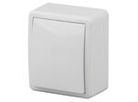 Выключатель, 10АХ-250В, ОУ, Эксперт, белый, 11-1201-01