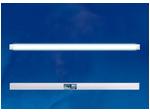ULO-CL150-48W-NW-K SILVER Светильник светодиодный накладной. Белый свет 4000K. Корпус серебристый