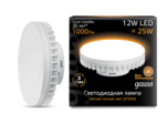 Лампа светодиодная LED 12Вт 150-265В GX70 теплый, таблетка