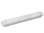 ULT-V15-20W/NW IP65 GREY Светодиодный промышленный светильник ЛСП 2х18 линейный накладной Ангилья 20Вт 1800Лм. Белый свет. IP65.