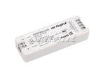 Контроллер SMART-K1-RGB (12-24V, 3x3A, 2.4G) (ARL, IP20 Пластик, 5 лет)