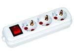 200-305-302 Удлинитель 3 гн с/з с выкл. 5м