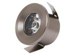 016-003-0001 Светодиодный светильник встраиваемый 1W 4200К Хром