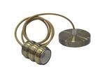 HOROZ 021-009-0001 Светодиодный светильник подвесной 1м Е27 Медь