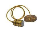 HOROZ 021-009-0001 Светодиодный светильник подвесной 1м Е27 Золото