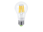 Лампа светодиодная LED-A60-PREMIUM 8Вт Е27 3000К 720Лм прозрачная. Теплый белый