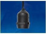 ULH-E27-IP54-15cm Патрон подвесной с защитой IP54. Цоколь Е27.