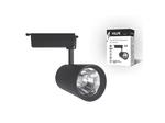 ULB-Q253 10W/NW/H BLACK Трековый светодиодный светильник. 10 Вт. 850Лм. Белый свет (4200К). Корпус черный.