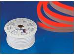 ULS-N21-2835-120LED/m-8mm-IP67-220V-8W/m-50M-RED Светодиодная гибкая герметичная лента. NEON. Бобина 50 м. Красный свет.