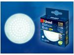 LED-GX53-10W/NW/GX53/FR PLZ01WH Светодиодная лампа GX53, матовая. Белый свет (4000K).